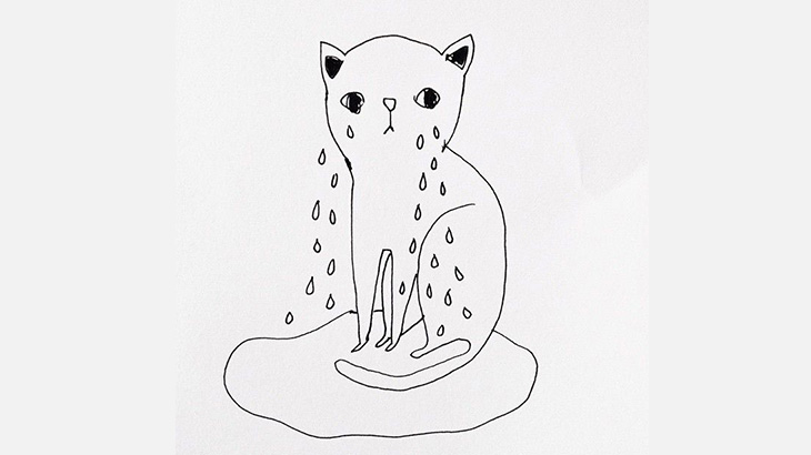 【閲覧注意】イカれた男、猫のマンコに棒をズボズボしてしまう(動画)