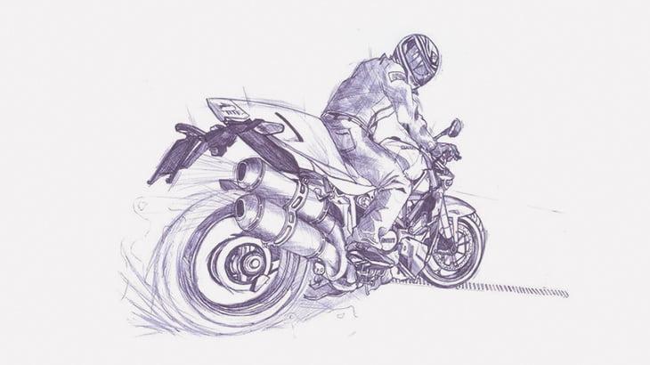 バイクでドリフトかましてた男、おもくそ轢かれる(動画)