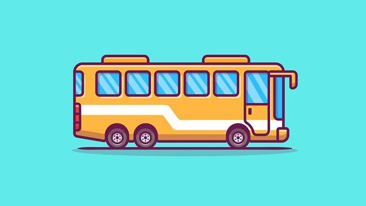 中国のバス、道路にボッシュートされてしまう(動画)