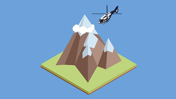 ヘリコプターの操縦スキルLv.99くらいのパイロット(動画)