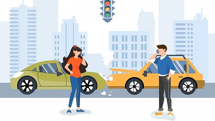 車をちゃんと停車させられない系の女さん、男性を轢いてしまう(動画)
