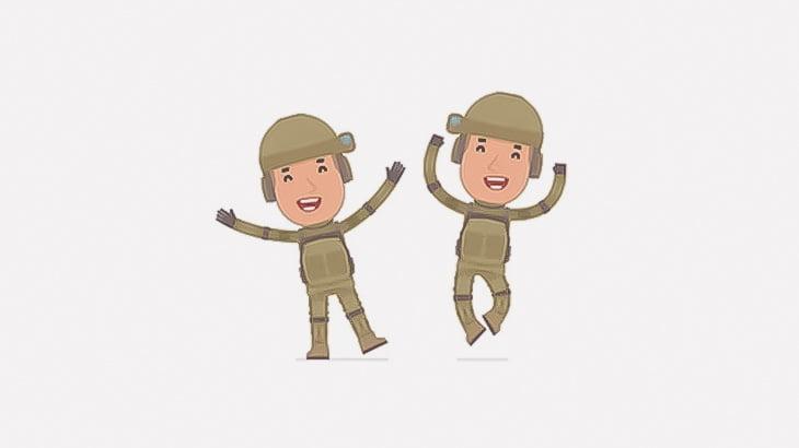 捕まえたテロリストをめっちゃ良い笑顔で鞭打ちする男たち(動画)
