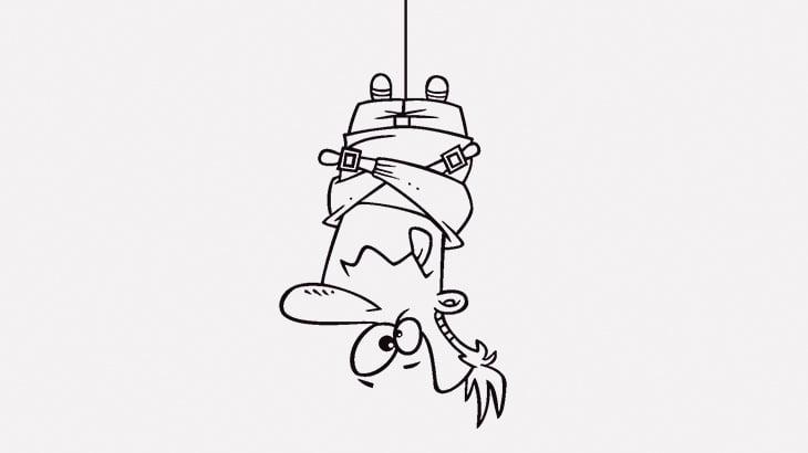 【閲覧注意】男を逆さ吊りにして腕を切断し身体に火を放つ人々(動画)