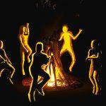 お祭り実行委員「集めた木材に火を点けて盛り上げるぞ!」→ 大爆発(動画)