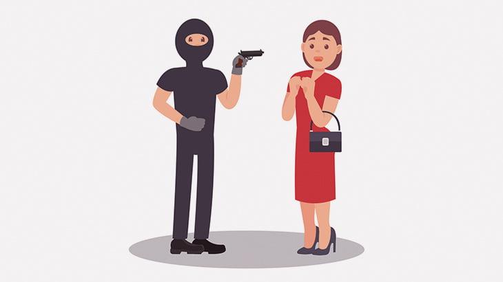 泥棒さん、女性から金品を奪おうとして仲間を撃ち殺してしまう(動画)