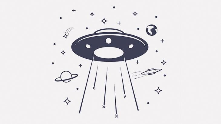 UFO撮影したわ(動画)