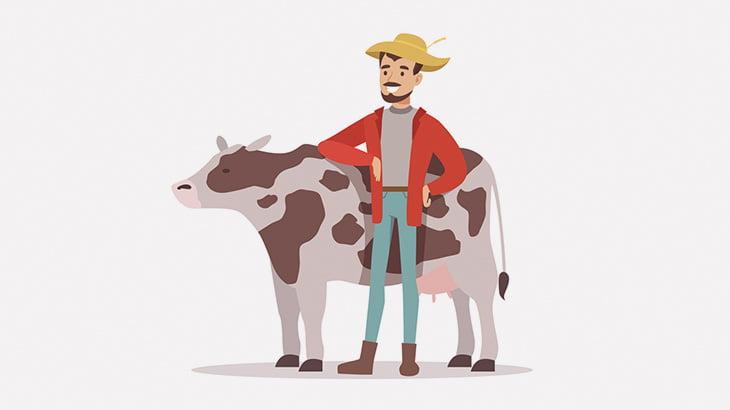 変態男さん、牛に自分のオチンチンをペロペロさせてしまう(動画)