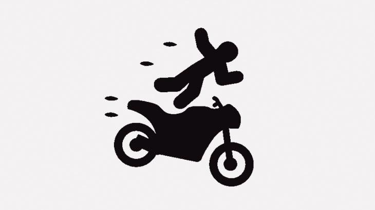 【閲覧注意】バイク事故で死んだ男が倒れてたから撮影してみた(動画)