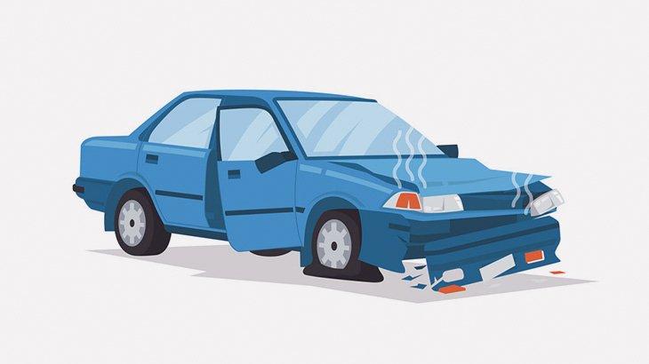 【閲覧注意】事故ったドライバーの頭、ちぎれてしまう・・・(動画)