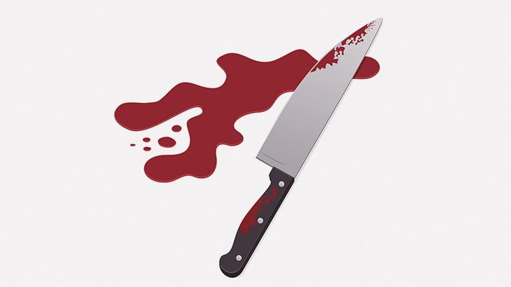 【閲覧注意】手の指をナイフでギコギコ切られてしまう男(動画)