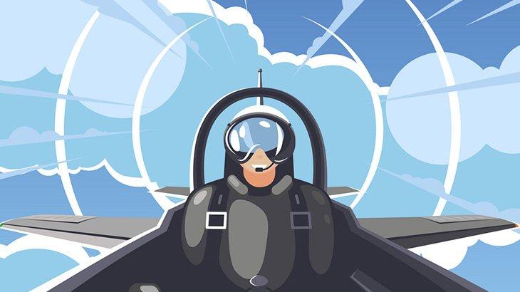 軍人さん「飛行中の戦闘機からパラシュート降下するぞ!」→ 無理でした(動画)