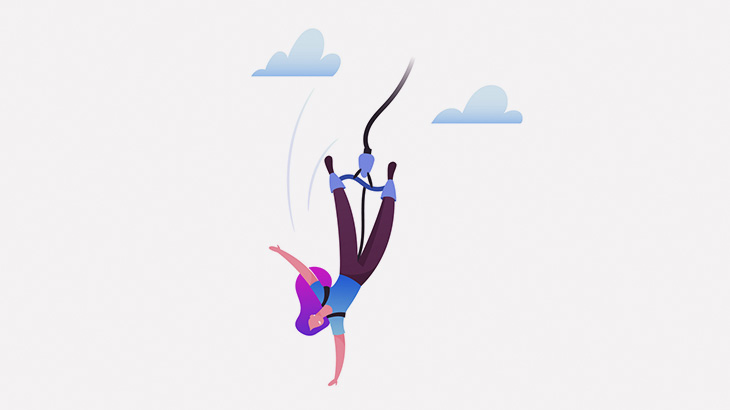 次が自分のバンジージャンプの番だと勘違いした女性、飛び降りて死亡(動画)