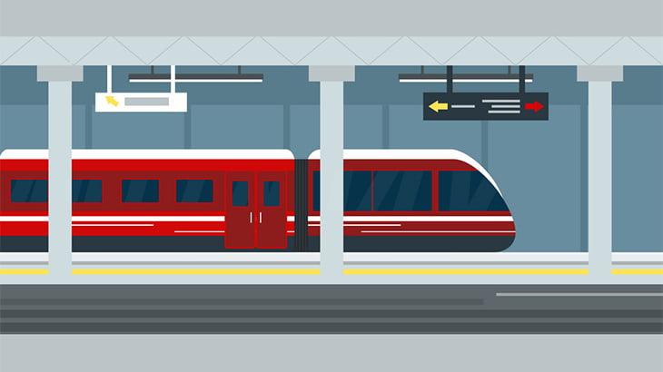 電車がホームに侵入してくるタイミングで線路に飛び降りた男、まったくの無傷(動画)