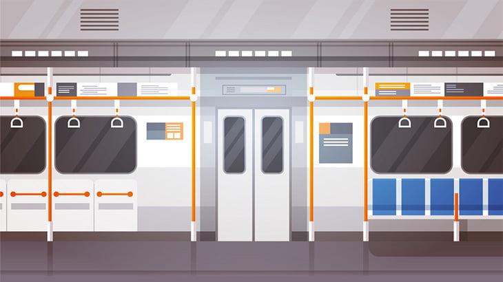 中国の大雨で冠水した地下鉄車両の乗客たち(動画)
