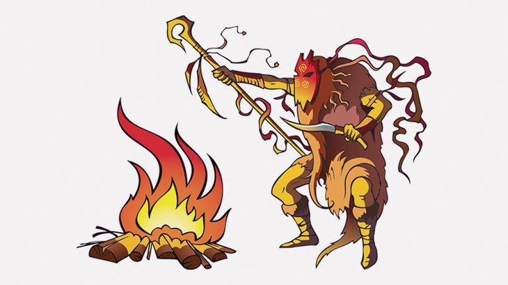炎を使って邪気を払っていた術士、男性の頭を燃やしてしまう(動画)