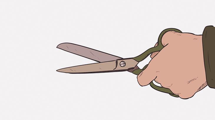 【閲覧注意】ギャングさん、ライバルの首にハサミを何度も突き刺してしまう・・・(動画)