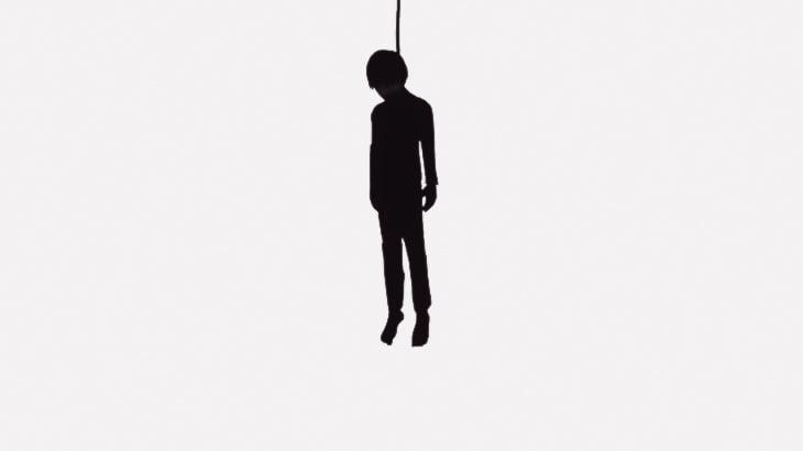【閲覧注意】口に癌を患ってしまった18歳の青年、首を吊って自殺・・・(画像)
