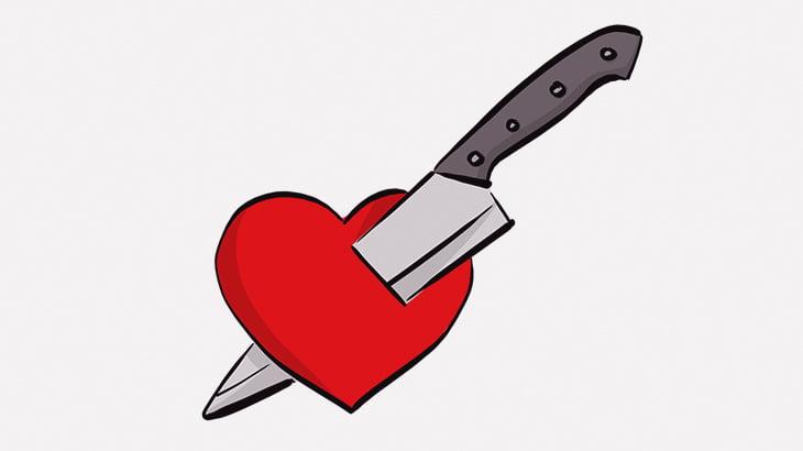 【閲覧注意】不倫セックス中の女さん、部屋に侵入してきた夫にナイフで刺し殺されてしまう(動画)