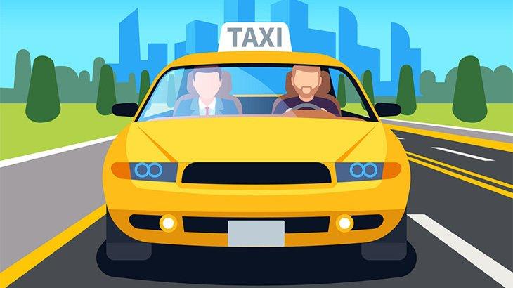 タクシーに乗り込んだこの男、あまりにもクレイジー・・・(動画)