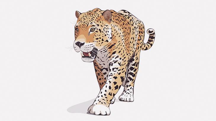 ジャガーさん、身体能力やばすぎ・・・(動画)