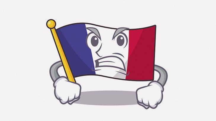 差別してたフランス人の男、移民の黒人男にボコられる(動画)