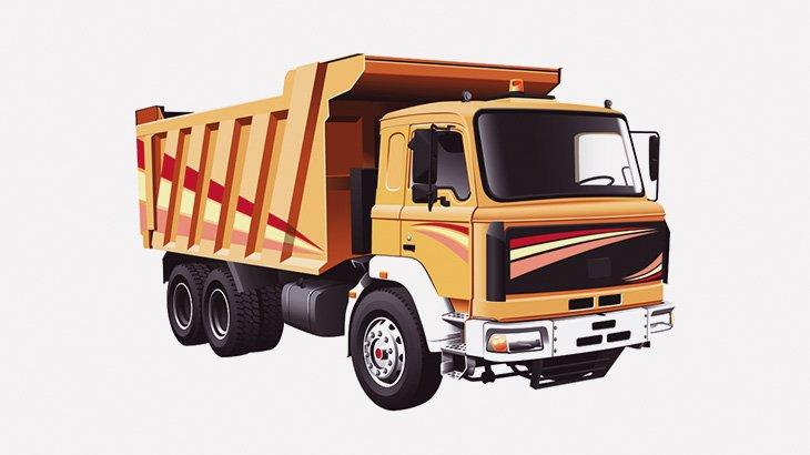 3台のトラック、なぜか次々と川に水没(動画)