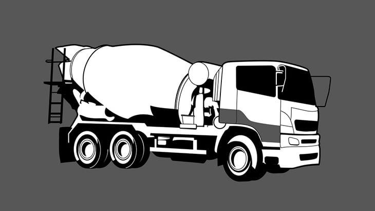 【閲覧注意】トラックに轢かれた人間、一瞬で粉砕されてしまう・・・(動画)