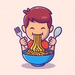 男さん「ラーメン食べるよ!」→ タイミングが良すぎる映像が撮れてしまう(動画)