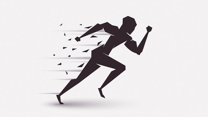 仕事の休憩中に同僚と走って競争してた男性、突然死・・・(動画)