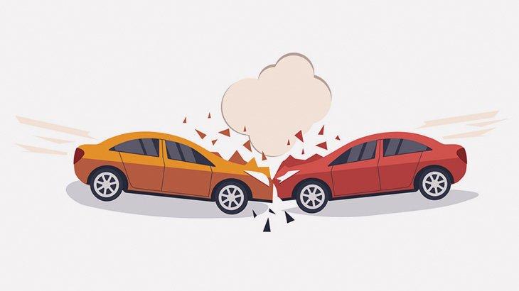 【閲覧注意】事故った車のドライバー、自分の腕を見て絶望・・・(動画)