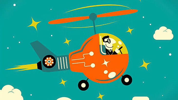 【閲覧注意】自家製ヘリで飛び立とうとした男、頭を粉砕されて死亡・・・(動画)