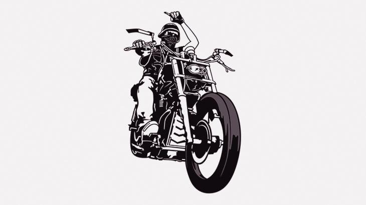 バイクで「引きずりの刑」に処されてしまった男(動画)