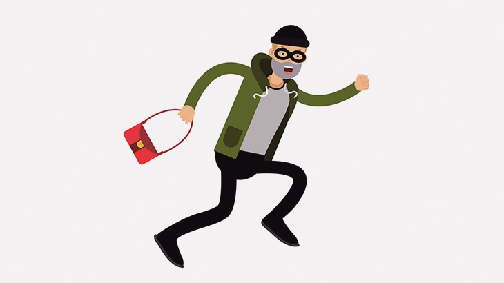 女性を殴ってバッグを奪った男、住民たちにつかまってボコボコにされる(動画)