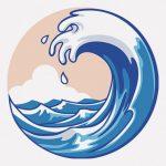 波が荒い海で遊ぶ男たち、ちょっと怖くない・・・?(動画)