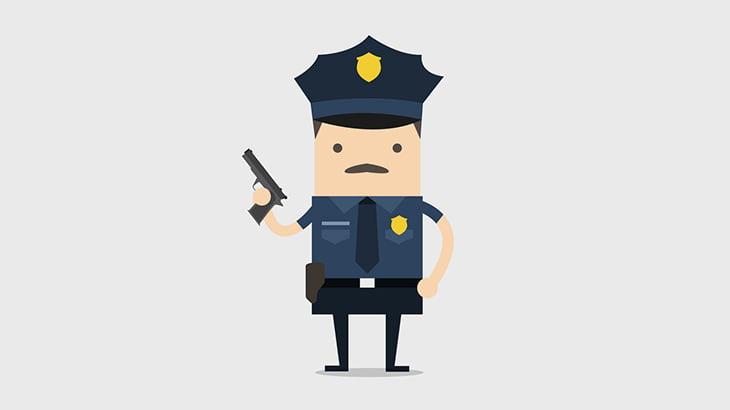 ほんのちょっと敵意を向けただけで銃を放つアメリカの警察官(動画)