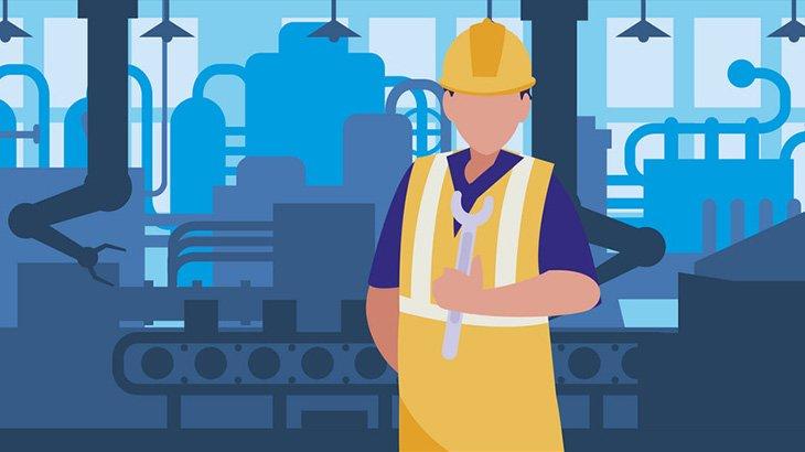 工場の作業員、機械に巻き込まれてぐるぐると何度も回されてしまう(動画)