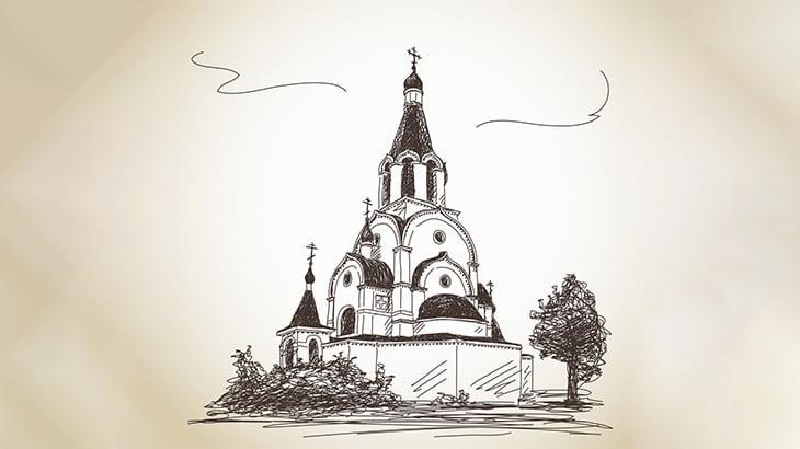古くからある教会の地下には「こんな場所」があるらしい・・・(動画)