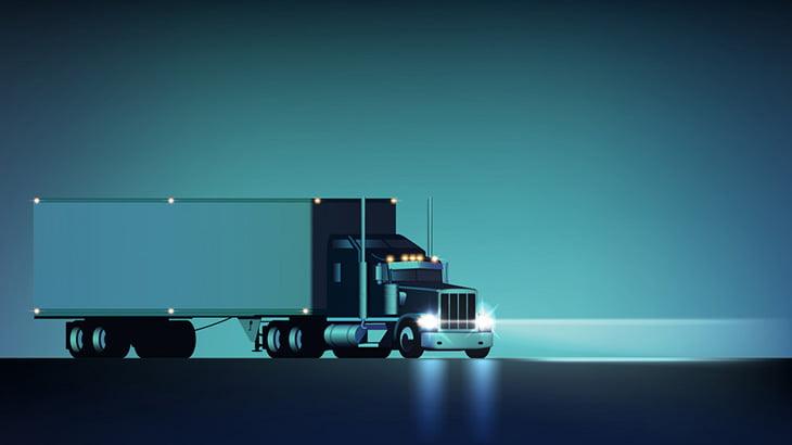 【閲覧注意】トラックを止めようとした男たち、轢かれてしまう(動画)