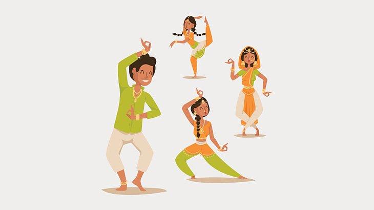インドでは「こういう姿の人間」の踊りが見れるらしい・・・(動画)