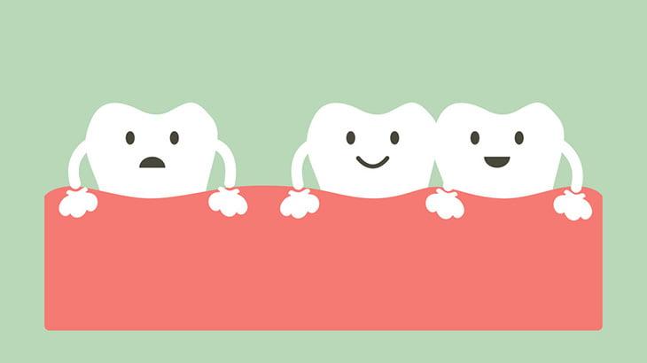 【閲覧注意】この男の子の歯茎、もうダメそう・・・(動画)