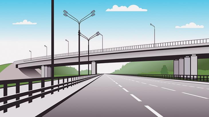 車を運転していたドライバー、陸橋から飛び降りた人間に激突してしまう(動画)