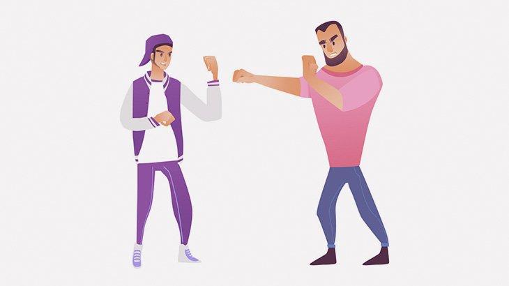 店で喧嘩になった男、相手に銃で撃ち殺されてしまう(動画)