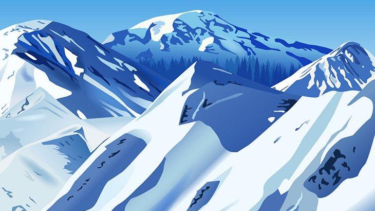【閲覧注意】雪山で凍死した女性(画像)