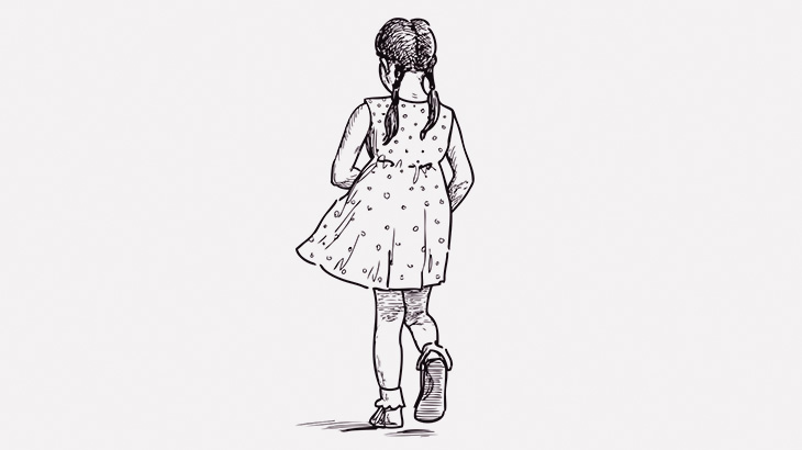 道を歩いていた幼い女の子、流れ弾でヘッドショットされて死亡・・・(動画)