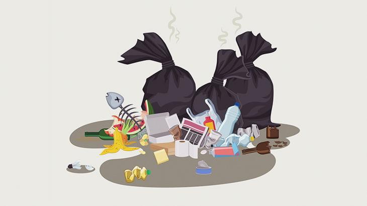 【閲覧注意】ゴミ捨て場に不審なビニール袋 → 人間の赤ちゃんでした・・・(動画)