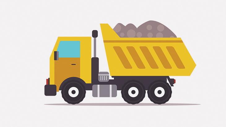 【閲覧注意】重いトラックに轢かれると人間はこうなる・・・(動画)