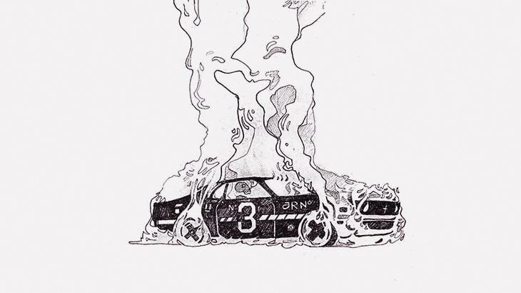 横転した車を戻そうとした結果 → 炎上してドライバー死亡・・・(動画)