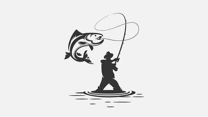 魚釣りしてた男、とんでもない生物を釣り上げてしまう(動画)