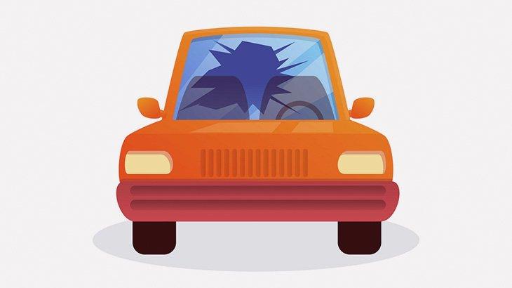 気に入らない相手の車にいたずらしてた女、自分の車を破壊される(動画)