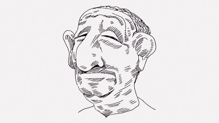 【微閲覧注意】この男性の鼻、ヤバい・・・(動画)